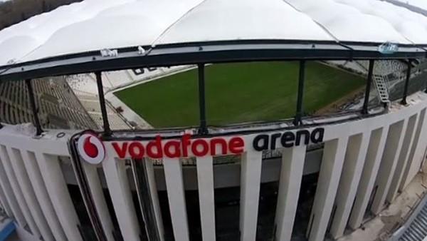 Vodafone Arena'nın Son Hali Havadan Görüntülendi