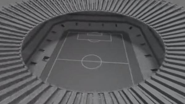 Stamford Bridge'in 3 Boyutlu Görüntüsü
