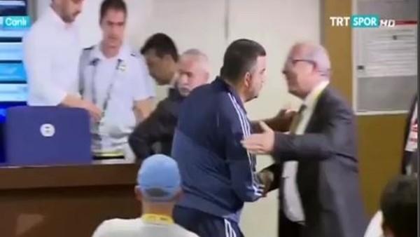 Ümit Özat'ın maç sonu Pereira'ya tepkisi