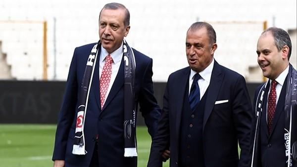 Fatih Terim'den Vodafone Arena'ya Övgüler