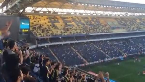 Fenerbahçe tribünlerindeki Ersun Yanal sesleri