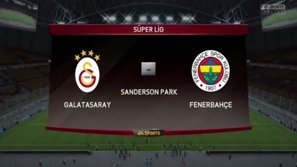 Galatasaray İle Fenerbahçe Fıfa 16'da Kozlarını Paylaştı