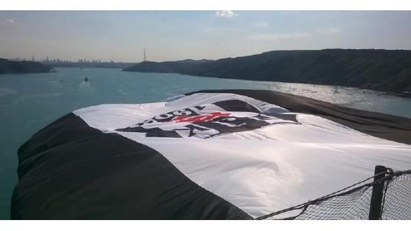 Şampiyon Beşiktaş'ın bayrağı boğaziçi köprüsü'nde!