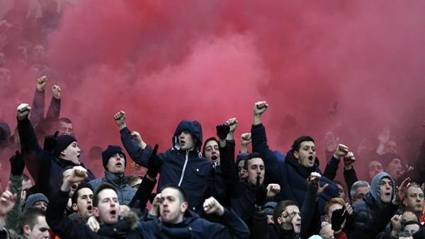 Liverpool taraftarı Villarreal maçına hazır