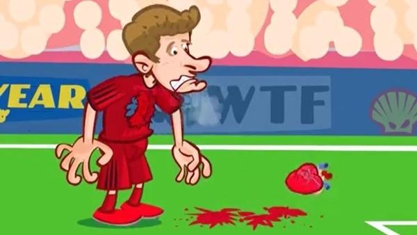 Bayern Münih - Atletico Madrid maçı animasyon oldu