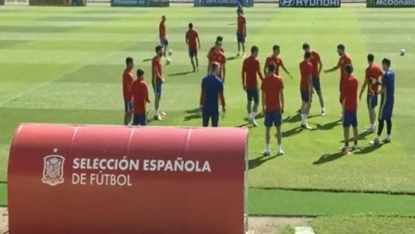 İspanya hazırlıklarını sürdürüyor