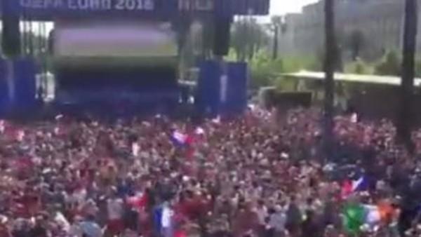 Fransa, İrlanda'yı devirdi taraftar çıldırdı