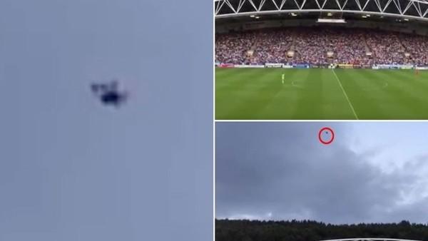 Drone'a Klopp engeli