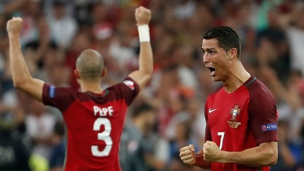 Ronaldo'nun bu halleri geceye damga vurdu