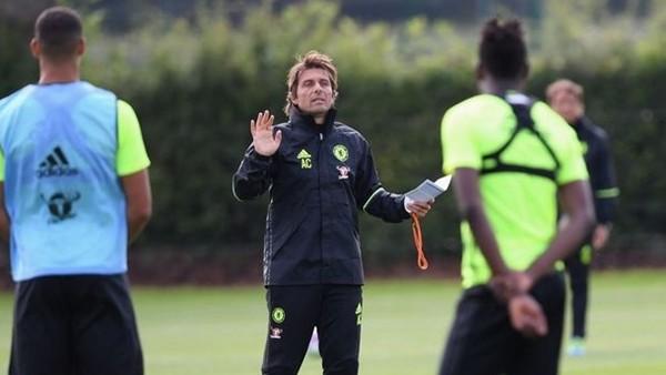 Conte'den bir garip antrenman