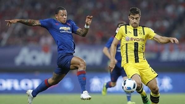 Manchester United 1-4 Borussia Dortmund (Maç Özeti)