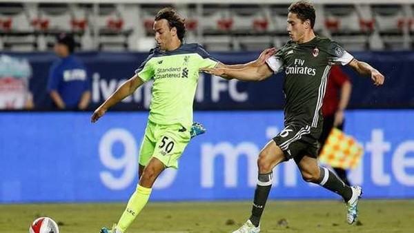 Liverpool, Milan'ı rahat geçti