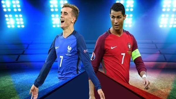 Fransa ile Portekiz bu akşam finalde karşı karşıya geliyor