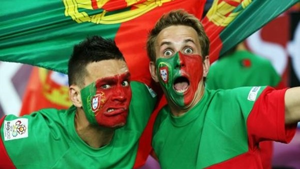 Portekiz taraftarlarında yarı final coşkusu