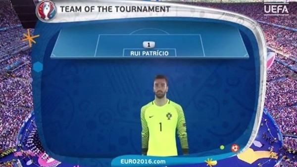 EURO 2016'nın en iyi 11'i