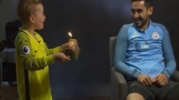 İlkay Gündoğan'a doğum günü sürprizi