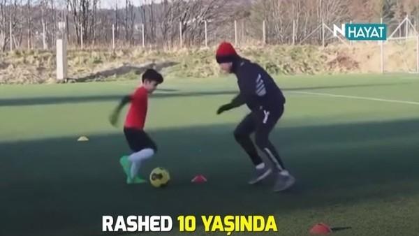 10 yaşında Juventus'a transfer oldu!