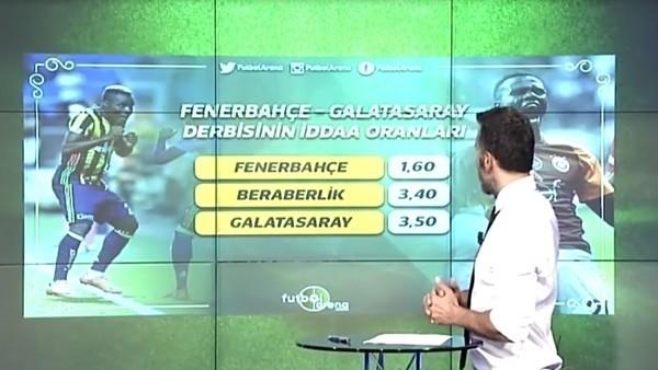Fenerbahçe - Galatasaray İddaa oranları