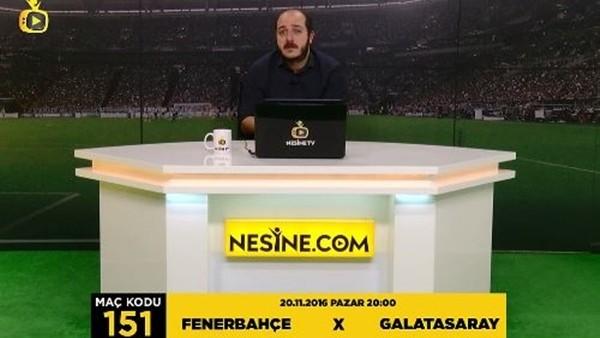Fenerbahçe - Galatasaray İddaa tahmini