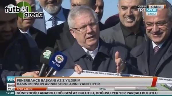 Aziz Yıldırım: 'Fenerbahçe kazanacak'