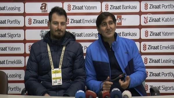 Kızılcabölükspor'un hocası Hasan Şermet: 'Puan aldığımız için mutluyuz'