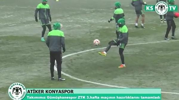 Atiker Konyaspor, Gümüşhanespor maçına hazır
