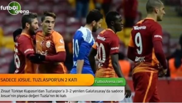 Sadece Josue, Tuzlaspor'un 2 katı