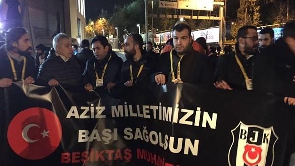 Beşiktaş muhabirleri patlama noktasına yürüdü