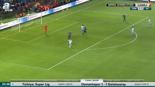 Haluk Kulaçoğlu'nun Şenol Güneş Stadı'nda attığı şık gol