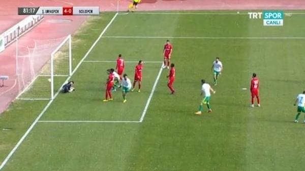 Şanlıurfaspor, Bolu'yu 4-0 yendi