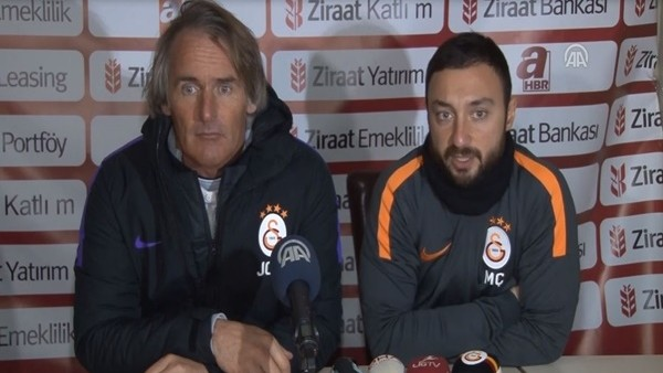 Riekerink: 'Galatasaray olarak kupada istediğimiz sonuçları alamadık'
