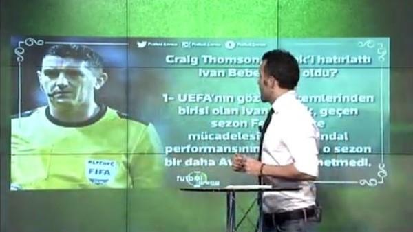 Deniz Çoban'dan Craig Thomson yorumu