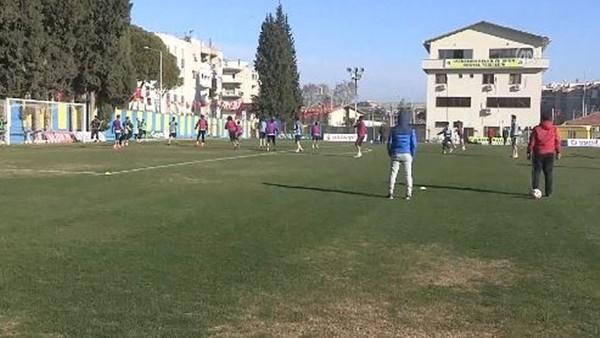Menemen Belediyespor'da Fenerbahçe maçı hazırlıkları