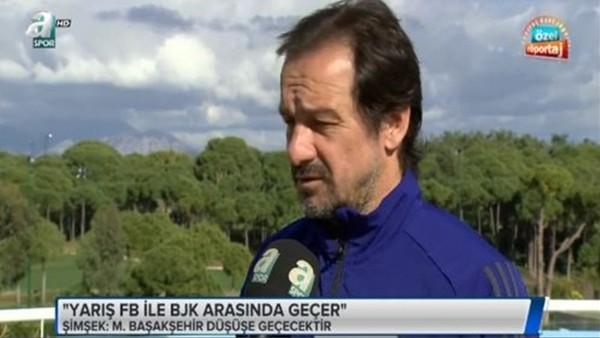 Yusuf Şimşek: 'Şampiyonluk yarışı Beşiktaş ile Fenerbahçe arasında geçecek'