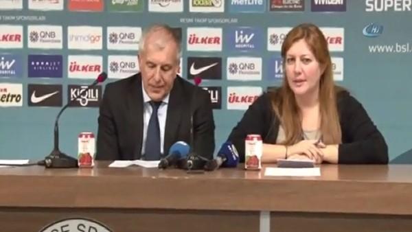 Obradovic: 'Oyuncularımı kutluyorum'