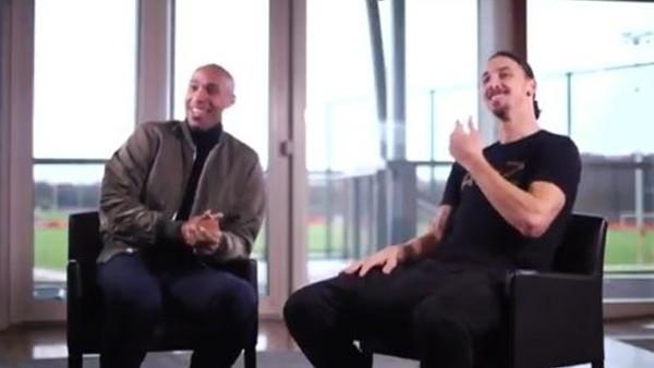 İbrahimovic'ten Pogba'ya: 'İki büyük oyuncunun arasında oturmak istiyorsan gel'