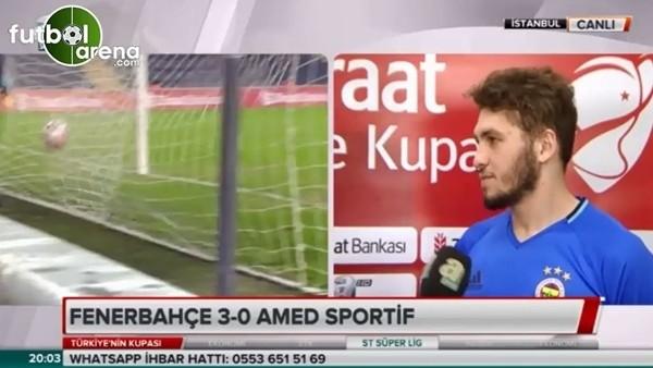 Fenerbahçeli genç futbolcular Amedspor galibiyetini değerlendirdi