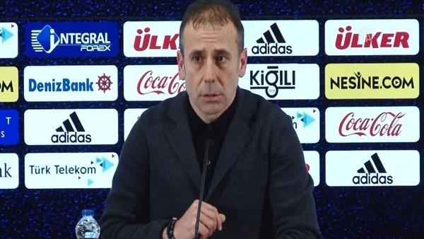 Abdullah Avcı'nın Fenerbahçe maçı sonrası açıklamaları