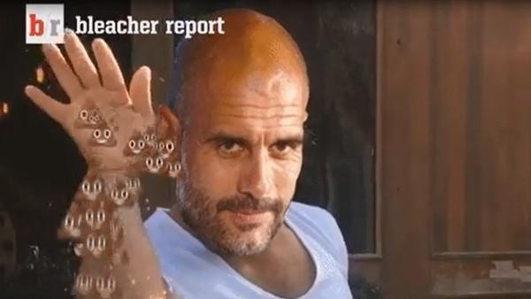 Pep Guardiola alay konusu oldu