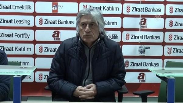 Şanlıurfaspor Teknik Direktörü Mustafa Kemal Kılıç: 'Kupada belirgin bir başarımız var'