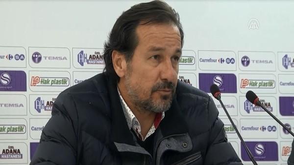 Mersin İdmanyurdu Teknik Direktörü Yusuf Şimşek: 'Güzel bir maç seyrettik'