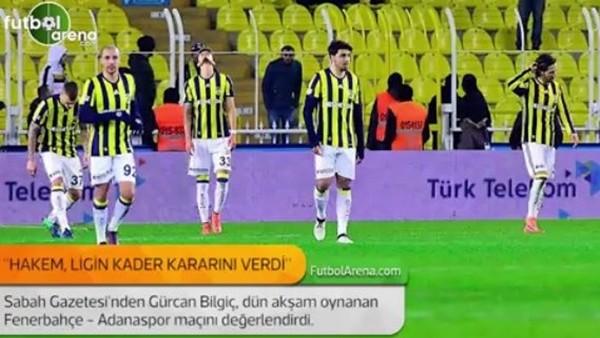 Gürcan Bilgiç: 'Hakem, ligin kader kararını verdi.'