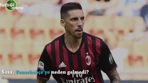 Jose Sosa, Fenerbahçe'ye neden gelmedi?