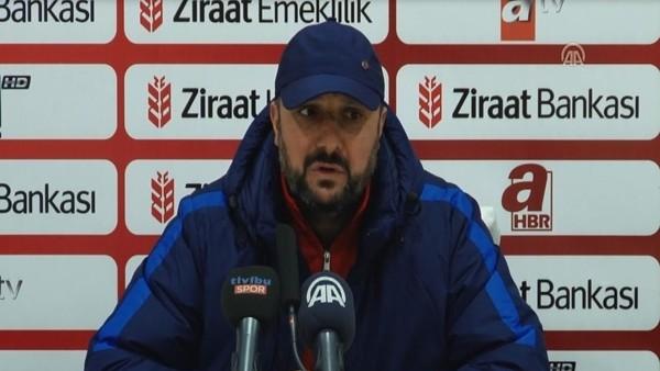 Sancaktepe Belediyespor Teknik Direktörü Hikmet Sevim'in Kasımpaşa maçı sonrası açıklamaları