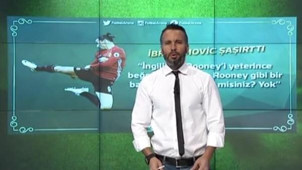 Zlatan: 'Rooney gibi bir başka adam yok'