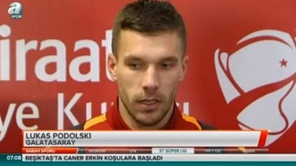 Riekerink ve Podolski'nin 24 Erzincanspor maçı sonrası açıklamaları