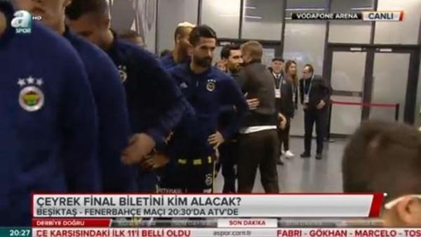 Caner Erkin,Fenerbahçe'de eski takım arkadaşlarına tek tek başarılar diledi