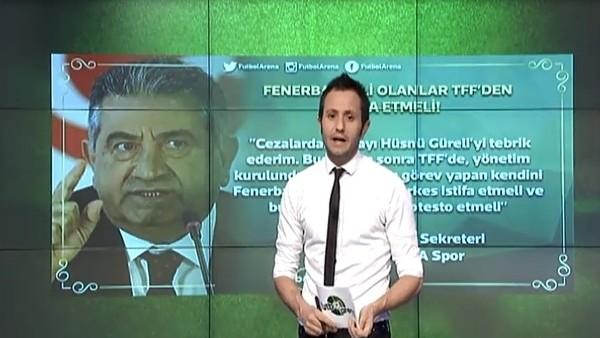 """""""Fenerbahçeliler TFF'den istifa etmeli"""""""