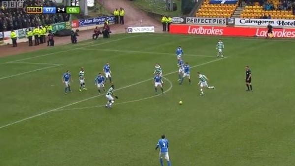 Celtic'ten hazırlanışı harika gol!