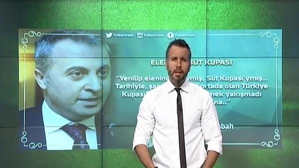 """""""Yenilip elenince, neymiş, Süt Kupası'ymış"""""""